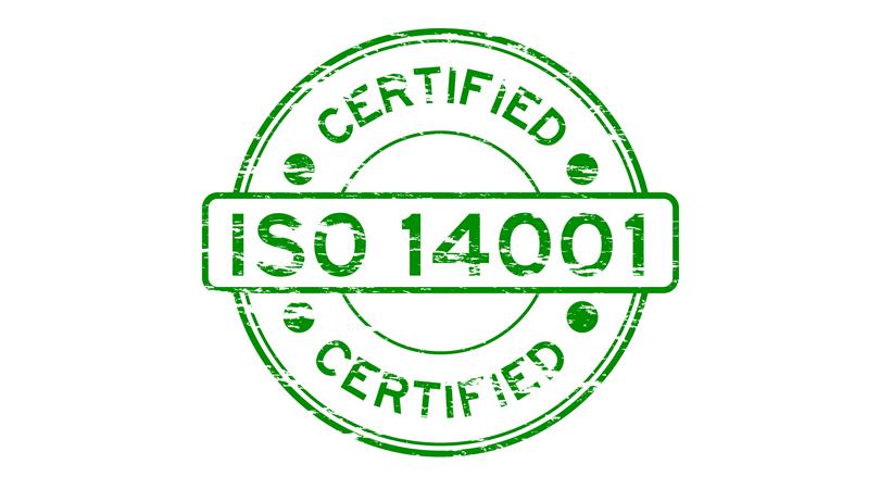 شهادة الايزو 14001