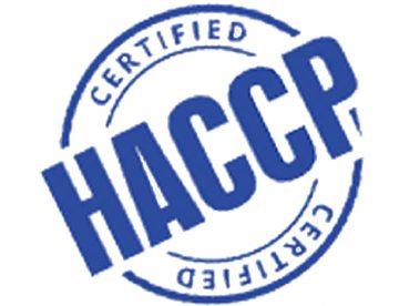 شهادة haccp